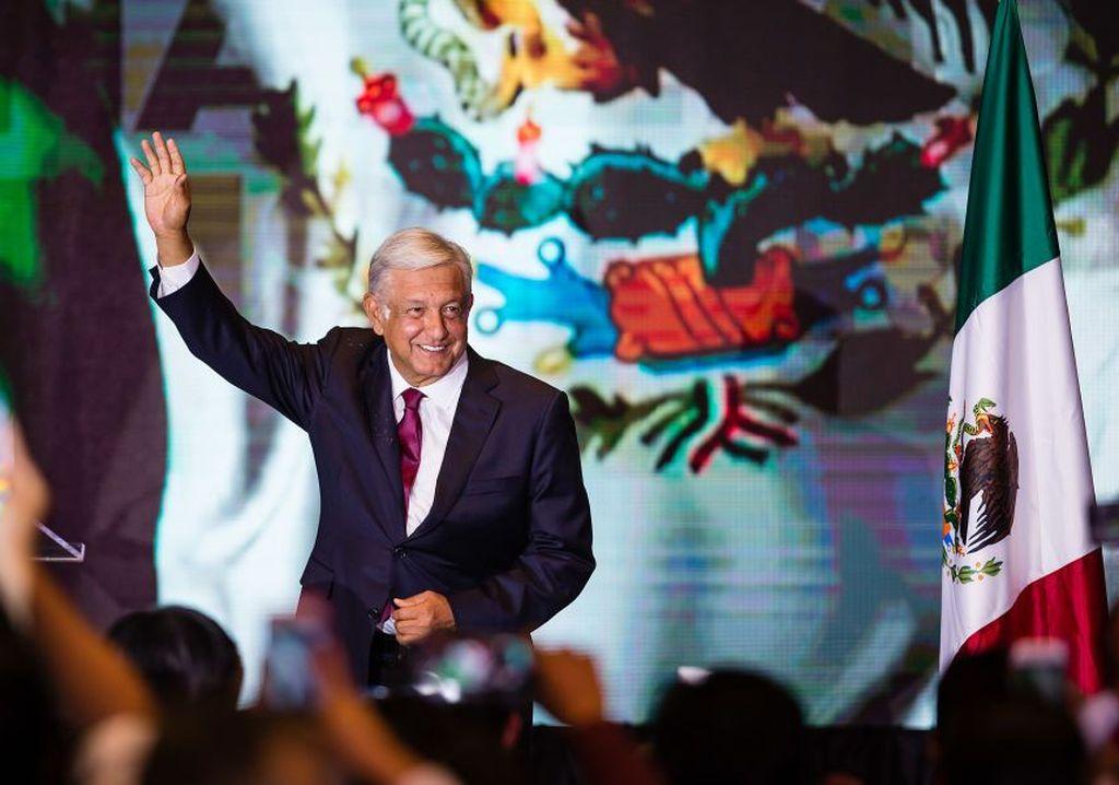 López Obrador fue elegido como el nuevo presidente de México. Crédito: Noticieros Televisa