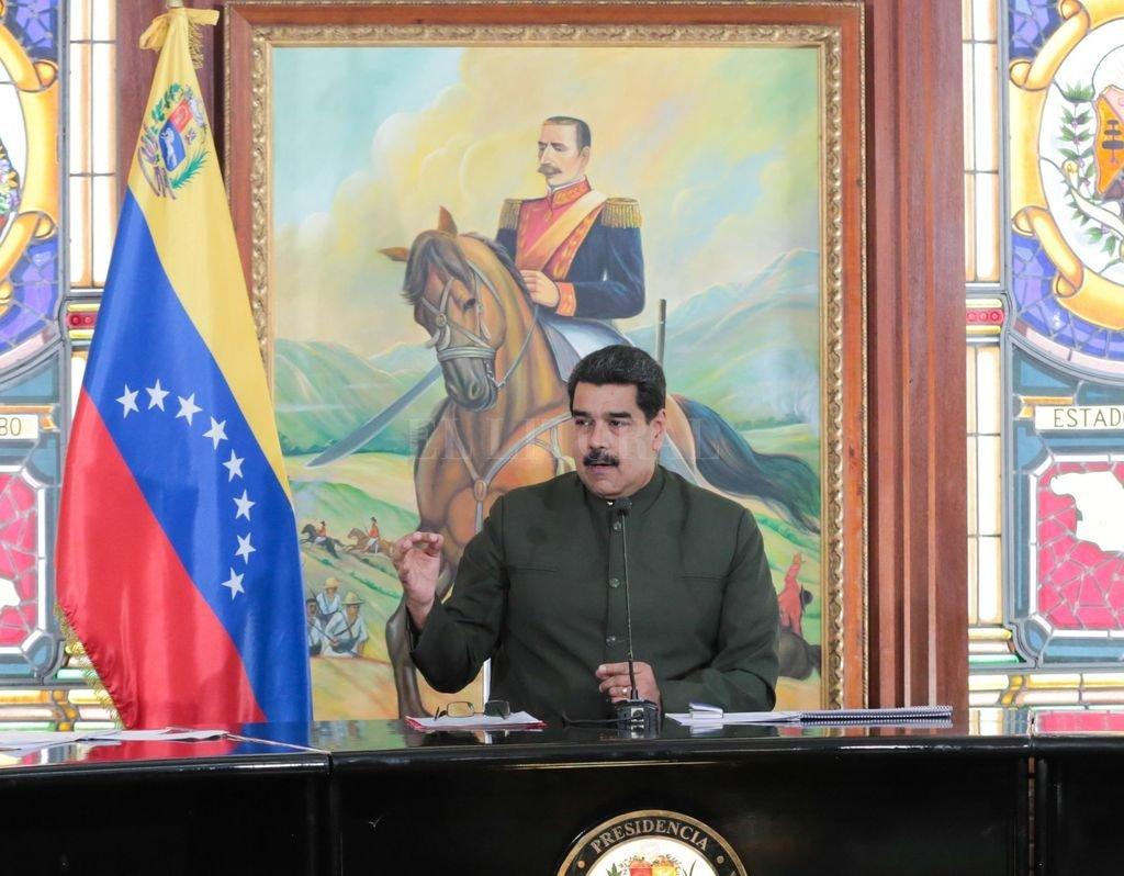 El presidente venezolano felicitó a su par mexicano. <strong>Foto:</strong> Archivo El Litoral