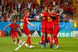 Bélgica eliminó a Japón en un final para el infarto