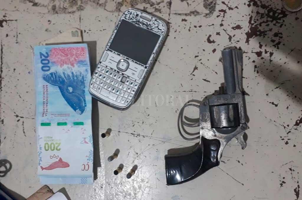 El arma secuestrada a la mujer <strong>Foto:</strong> El Litoral