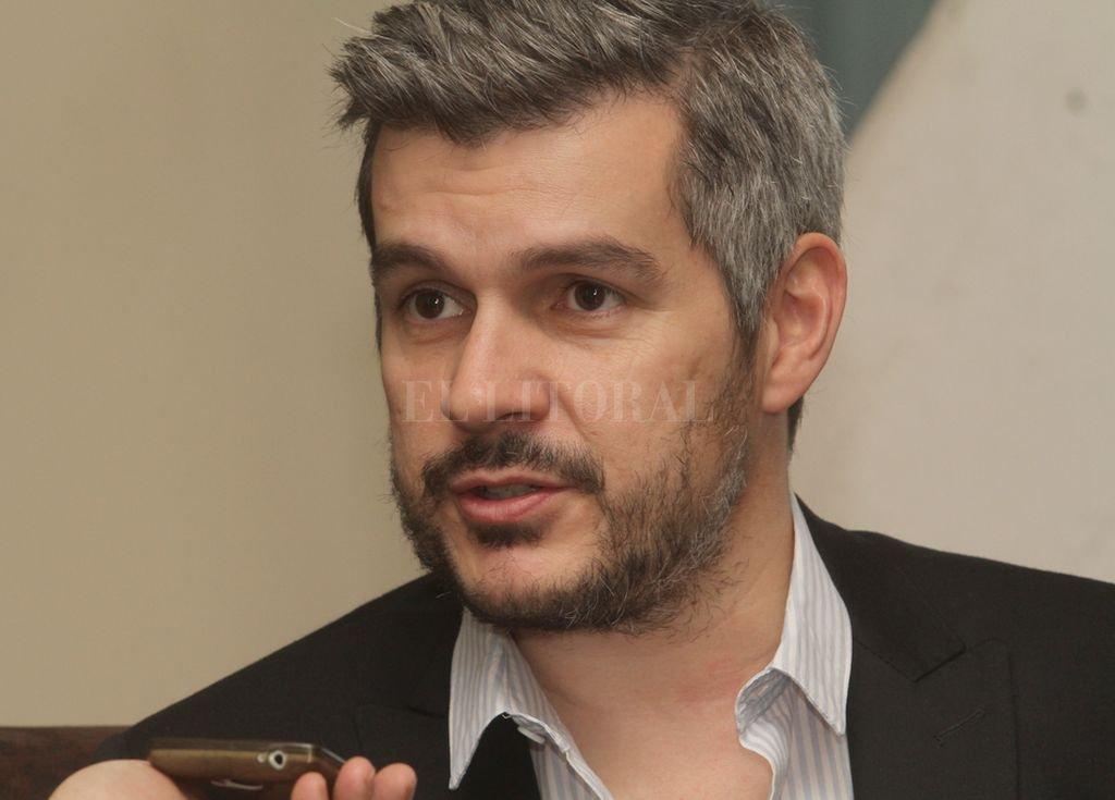 El jefe de Gabinete, Marcos Peña. <strong>Foto:</strong> Guillermo Di Salvatore