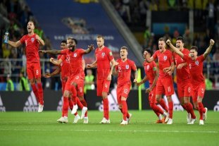 Inglaterra eliminó a Colombia en los penales
