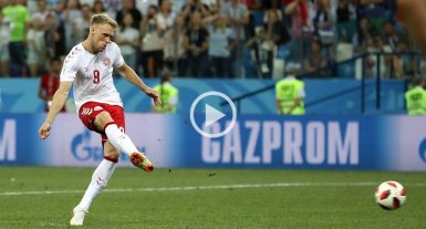 Amenazan de muerte al futbolista de Dinamarca que erró un penal ante Croacia