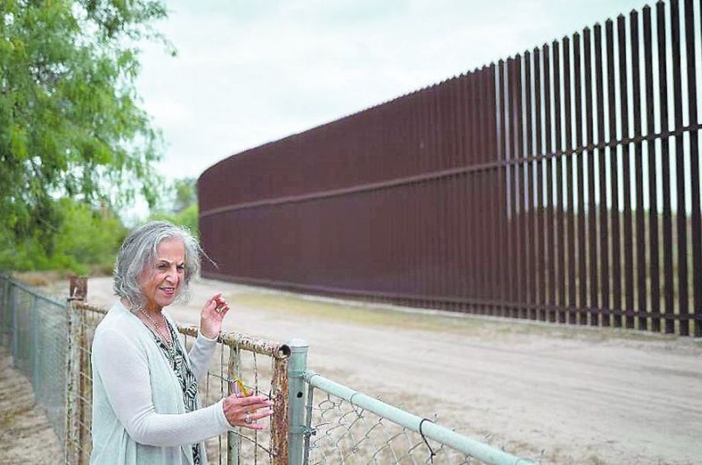 Eloísa Tamez es lipan apache y sus antepasados eran dueños de esta tierra un siglo antes de que una guerra impusiera el límite entre Texas y México.   Crédito: Internet