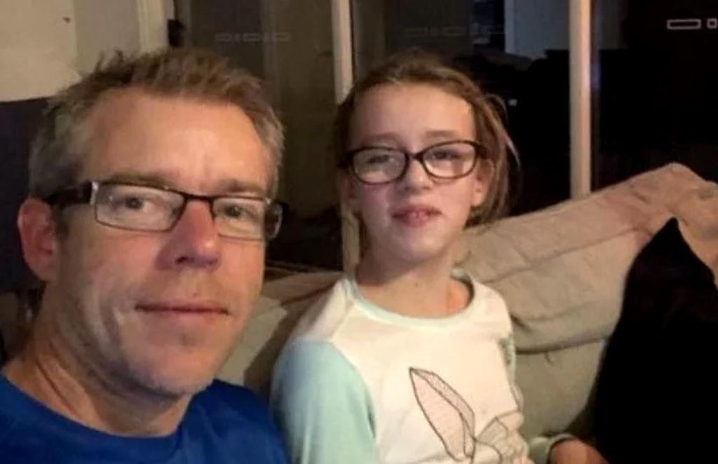 Sophie fue diagnosticada con autismo a los tres años y, con esfuerzo, cursa la primaria en una escuela de enseñanza tradicional.  Crédito: Internet