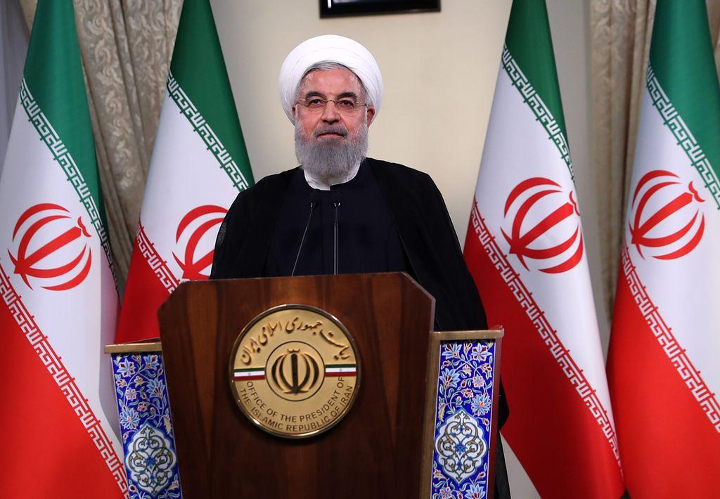 El presidente iraní, Hassan Rohani.  Crédito: Archivo El Litoral