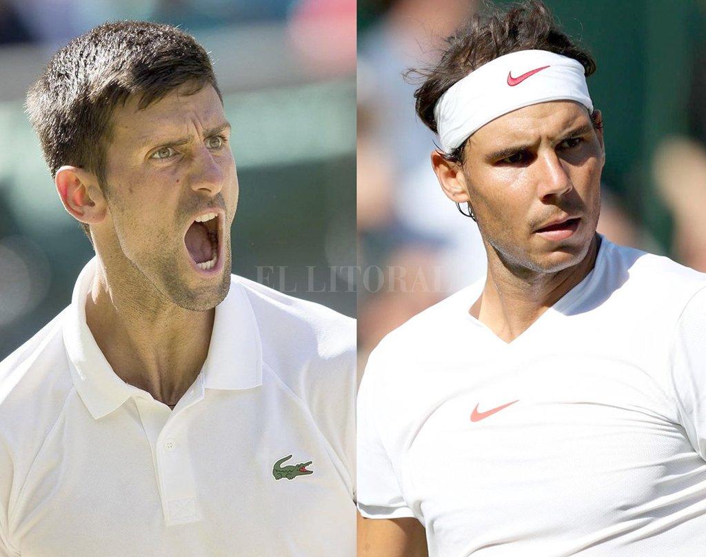 Novak Djokovic y Rafael Nadal pasaron la primera ronda de Wimbledon este martes. Crédito: Internet