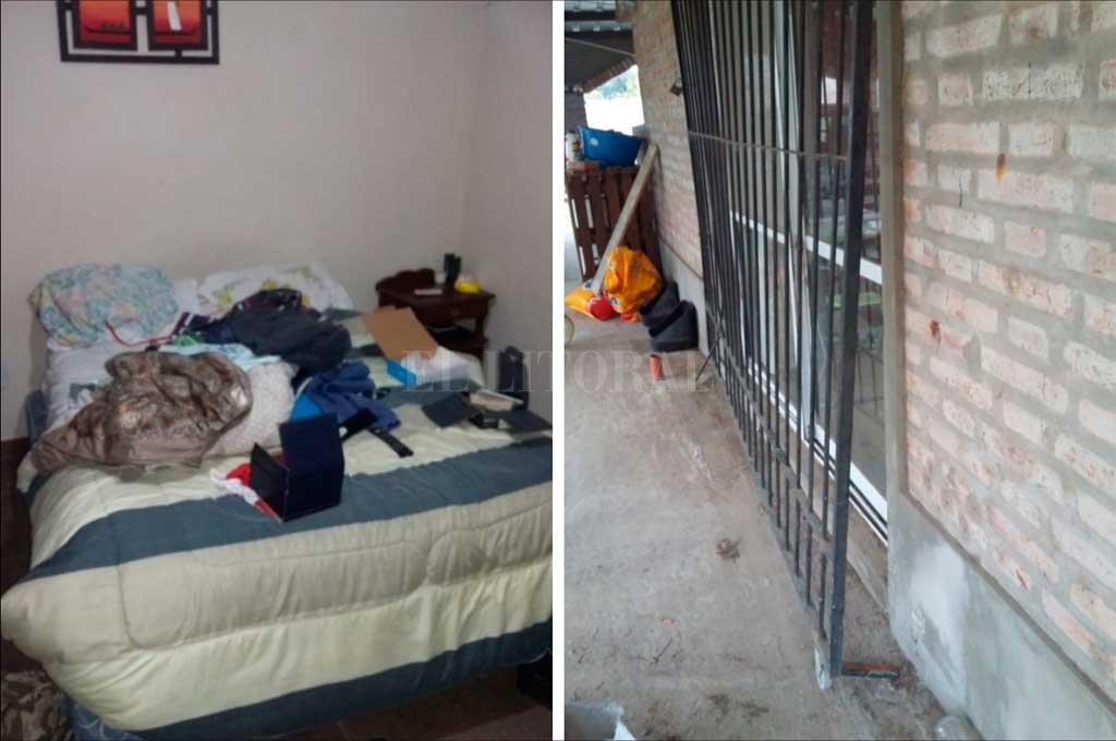 """Los ladrones arrasaron con todo. """"No me dejaron ni la maquinita de afeitar"""", dijo el dueño de casa. Para ingresar al inmueble, los delincuentes saltaron un tapial perimetral y luego violentaron una reja. Crédito: Danilo Chiapello"""
