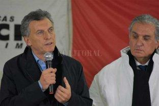 """Macri en el sur de Santa Fe: """"Estamos en el rumbo correcto"""""""
