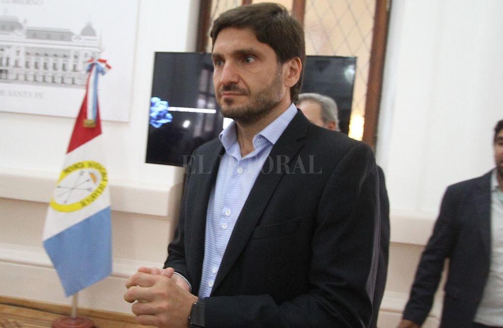 Maximiliano Pullaro, ministro de Seguridad de la provincia. <strong>Foto:</strong> Guillermo Di Salvatore