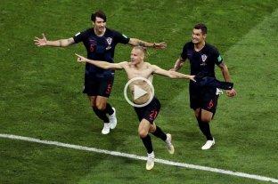 Por penales, Croacia se metió en semifinales