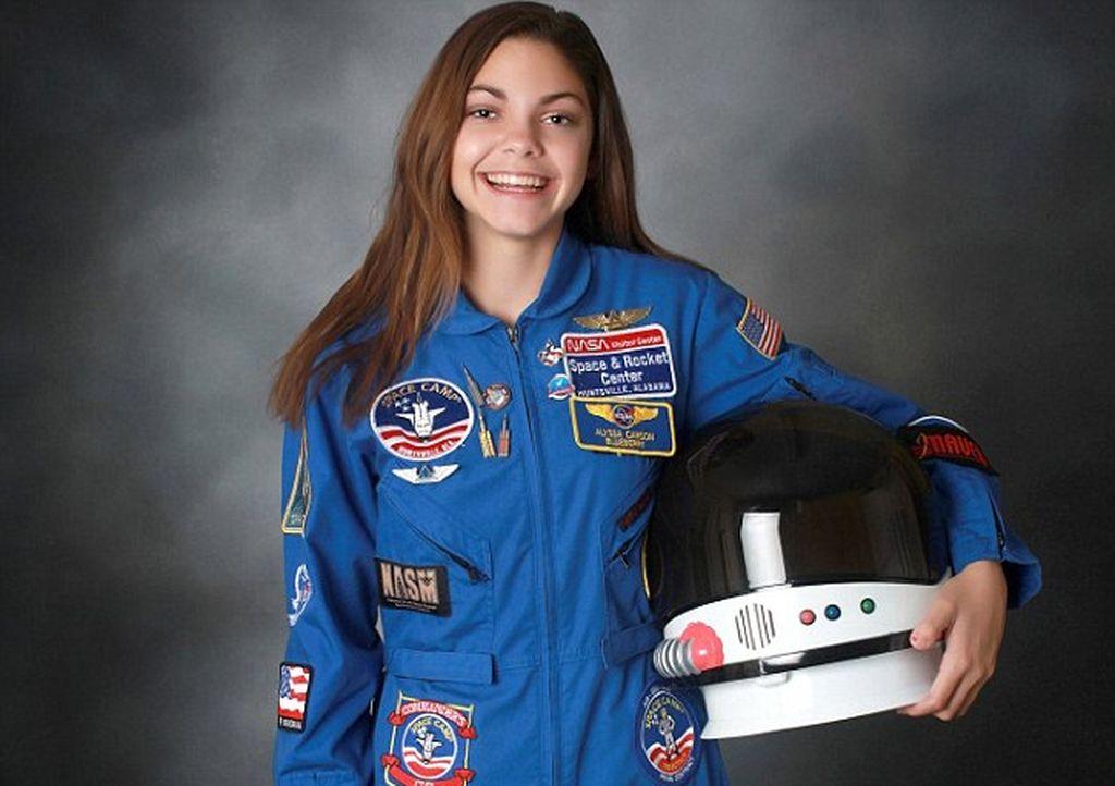 Alyssa Carson. Crédito: NASA