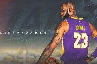 Es oficial: LeBron James firmó con Los Ángeles Lakers