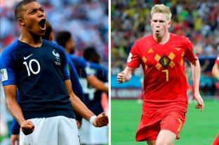 Francia y Bélgica definen un finalista