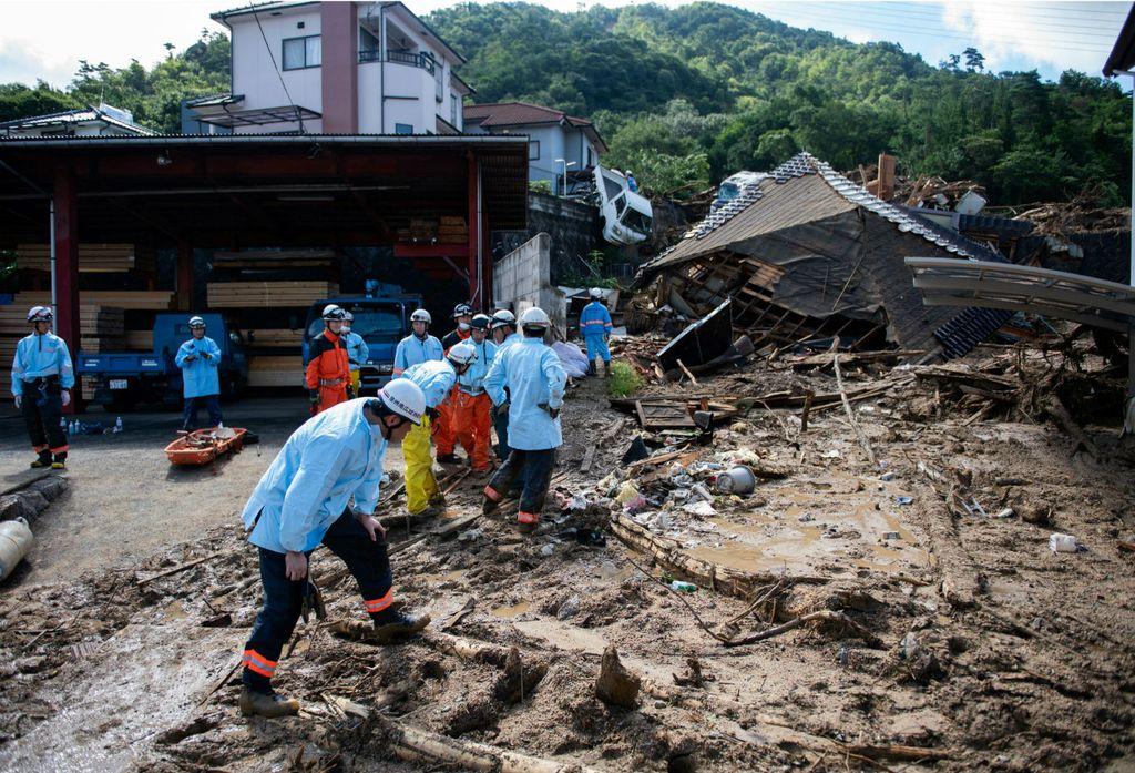 Se trata de la mayor catástrofe natural vivida en Japón desde el devastador terremoto y tsunami de 2011 y por el momento no se conoce el alcance de los daños.  <strong>Foto:</strong> Internet
