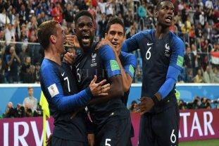 Francia venció a Bélgica y es finalista del mundial