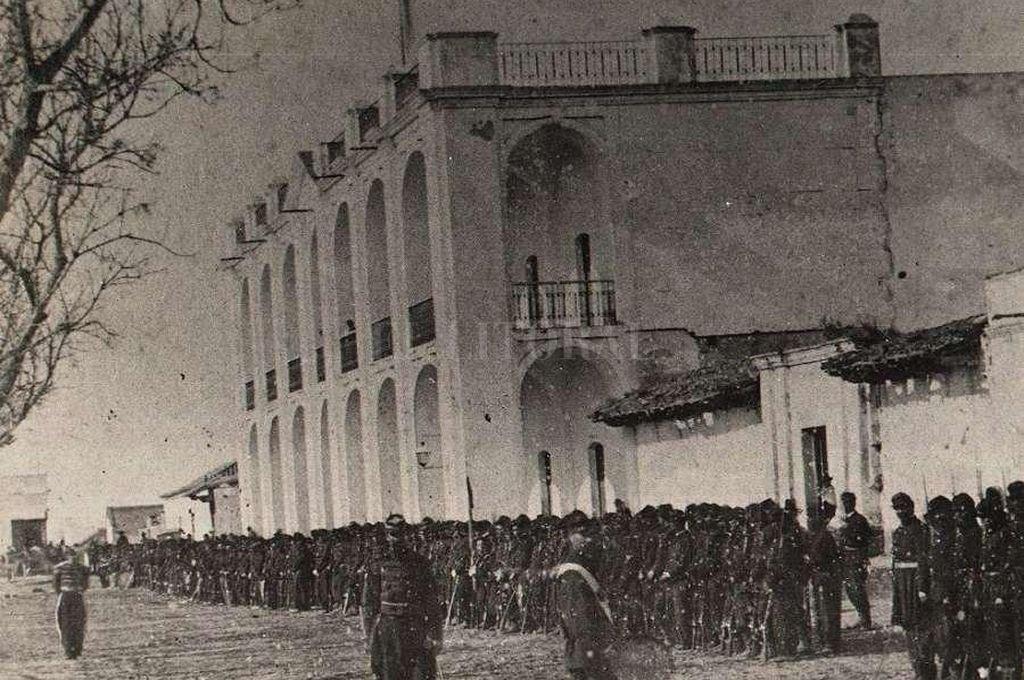El Cabildo de la ciudad en el S. XIX. <strong>Foto:</strong> Archivo El Litoral