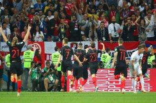Croacia venció a Inglaterra y jugará la final por primera vez