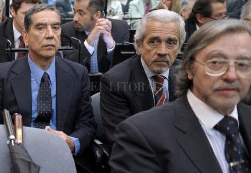 Juan Carlos Rolón durante el juicio por los delitos de lesa humanidad que llevaron a cabo en la ESMA. Crédito: Archivo