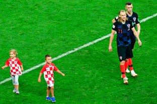 Video: los hijos de los jugadores de Croacia también jugaron