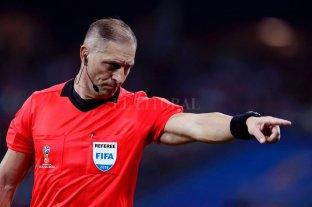 Pitana dirigirá la final entre Francia y Croacia