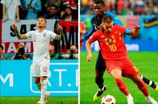 Bélgica e Inglaterra buscan un lugar en el podio