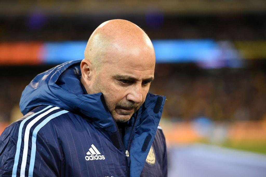 Jorge Sampaoli dejará la Selección Argentina este lunes. Crédito: Archivo