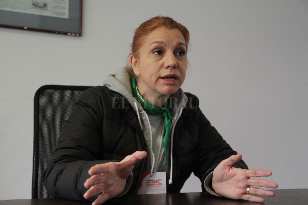 Karina Banfi, diputada radical Crédito: El Litoral