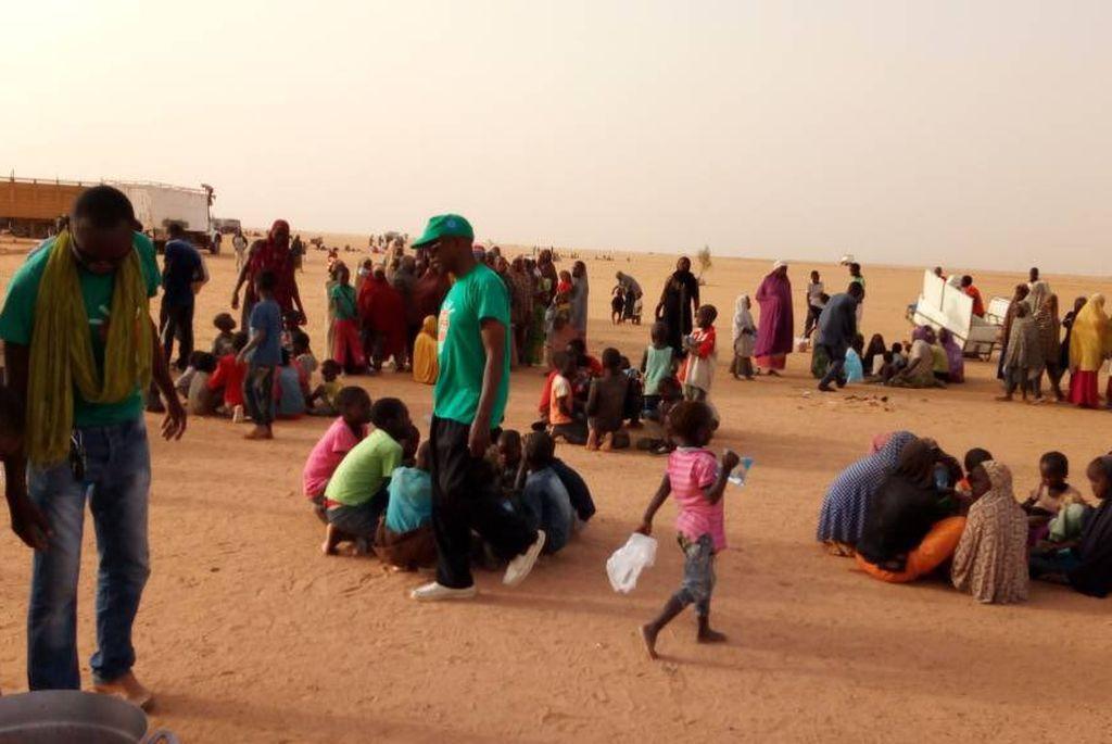 Loprete denunció que casi 400 personas fueran abandonadas sin alimentos ni agua,