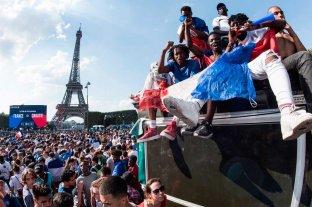 El campeón del mundo ya aterrizó en Francia