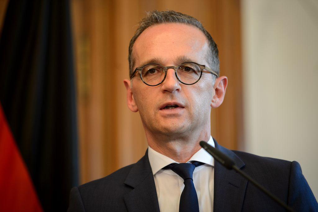El ministro de Relaciones Exteriores de Alemania, Heiko Maas, el 31/05/2018 en Berlín, Alemania.  <strong>Foto:</strong> dpa