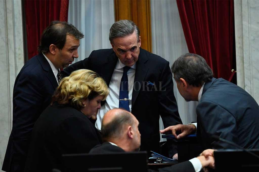 Pichetto, jefe del bloque justicialista del Senado Crédito: Prensa Senado