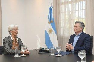 Macri recibirá a la directora del FMI en Olivos