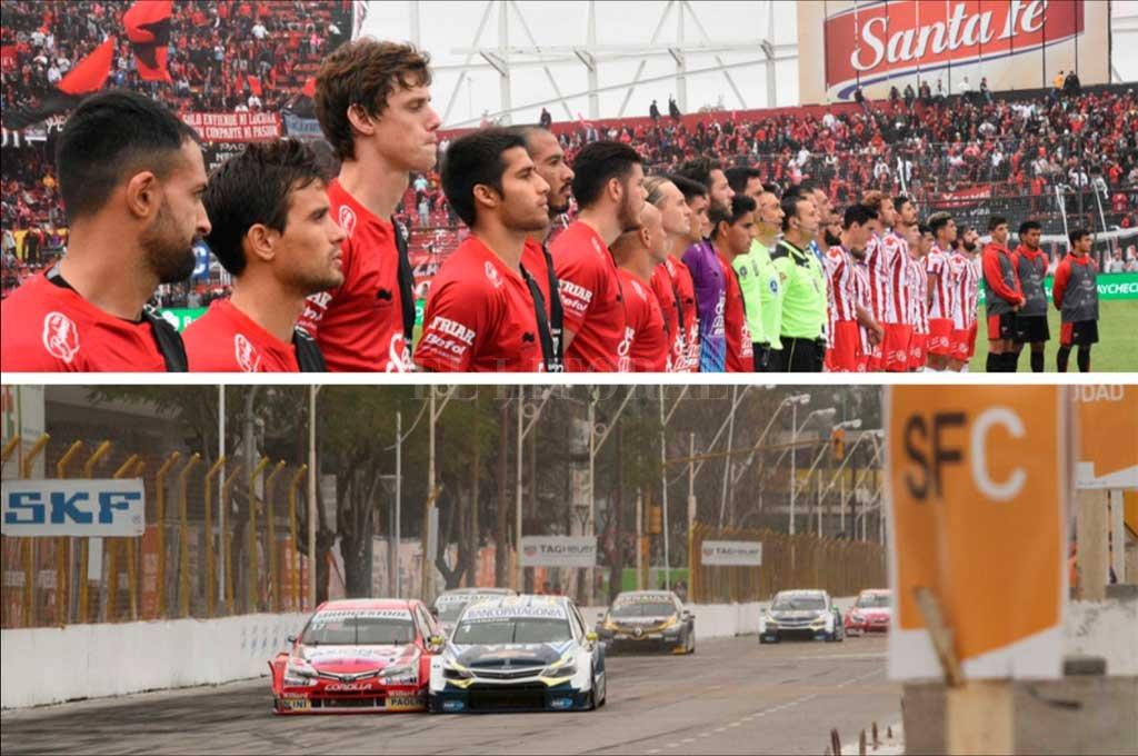 Santa Fe tendrá en un mismo fin de semana el clásico entre Colón y Unión, a disputarse en el barrio Centenario, y la carrera del Súper TC2000 Crédito: Archivo El Litoral