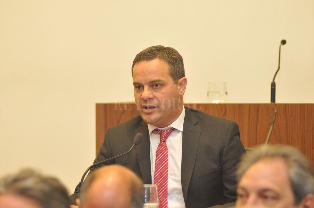 Leandro González, concejal de Santa Fe por el FPCyS. Crédito: El Litoral