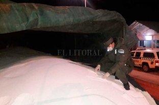 Interceptaron un camión con 28 toneladas de precursores químicos