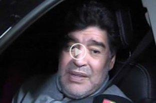 "Diego Maradona criticó a Chiqui Tapia: ""La AFA es un desastre"""