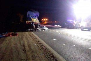 Choque frontal entre camiones dejó un fallecido