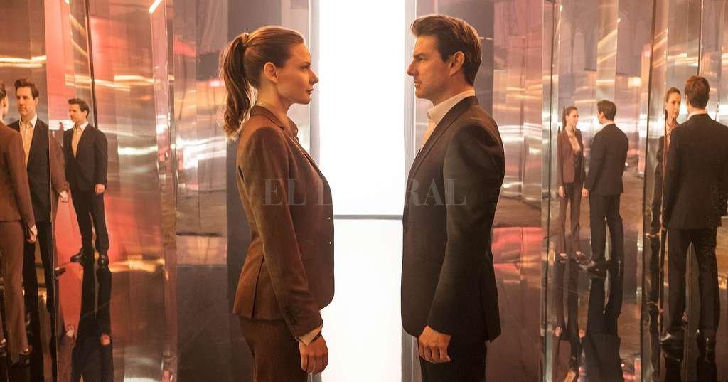 La agente británica Ilsa Faust (Rebecca Ferguson) se une nuevamente a Ethan Hunt (Tom Cruise) para enfrentar a un viejo enemigo. <strong>Foto:</strong> Gentileza Paramount Pictures