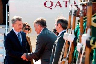 Macri ya llegó a Sudáfrica y se reúne con Putín