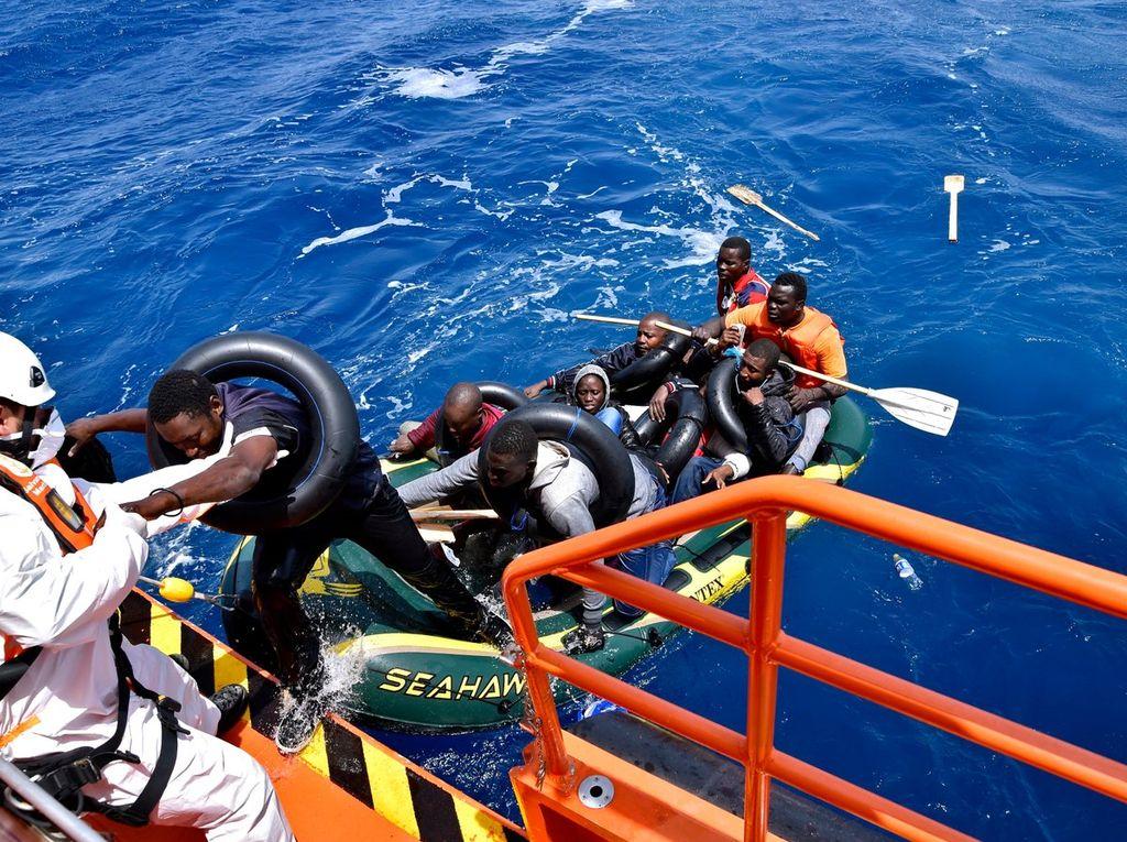 <strong>Foto:</strong> Salvamento marítimo.