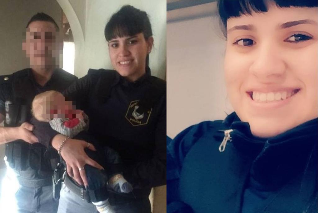 Lourdes Espíndola, madre de una nena de 6 años, se encuentra ahora internada en la terapia intensiva en el Hospital Posadas con muerte cerebral.  Crédito: Internet