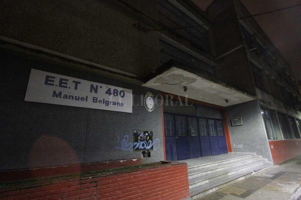 La EET n° 480 Manuel Belgrano es una de las escuelas más damnificadas por los llamados con amenaza de bomba Crédito: Archivo El Litoral