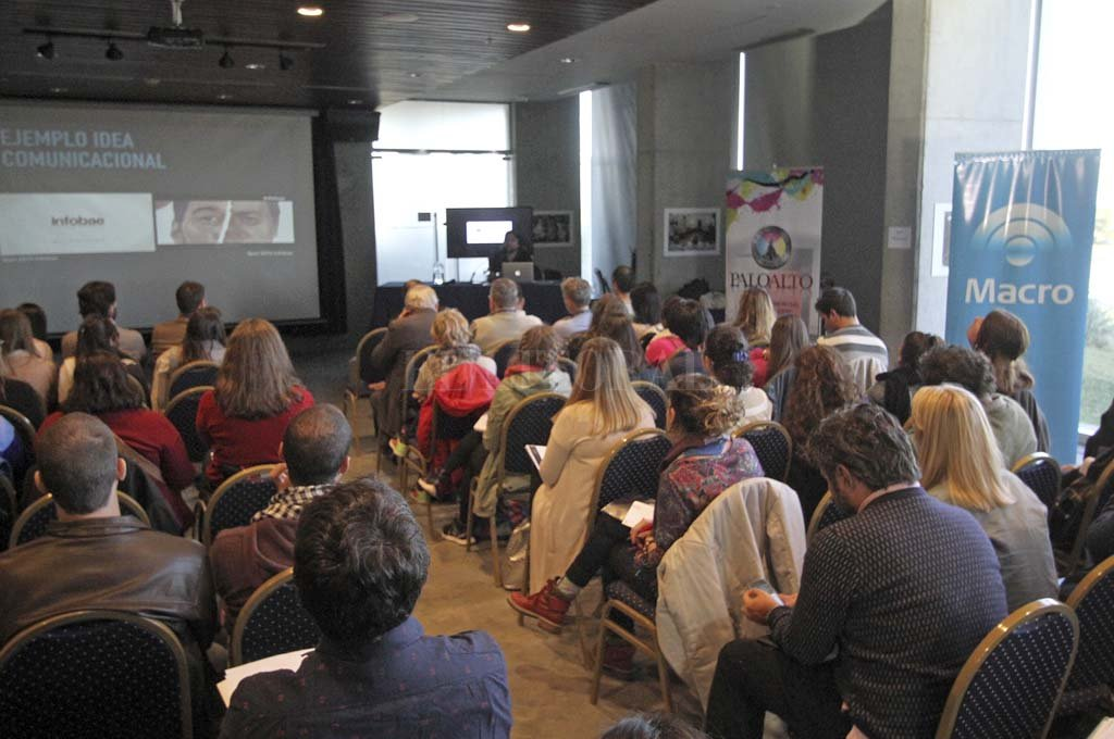 Mediapolis es un espacio de capacitación para periodistas y comunicadores ya consolidado en Santa Fe y la región.  Crédito: Pablo Aguirre.