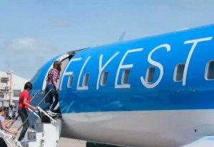 Anuncian que Flyest sumará  un vuelo diario a Buenos Aires