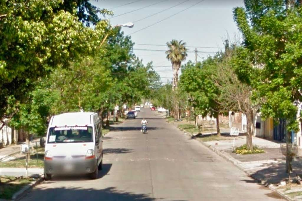 Las calles de barrio Guadalupe Oeste nuevamente escenario de un robo  <strong>Foto:</strong> Captura de Pantalla - Google Street View