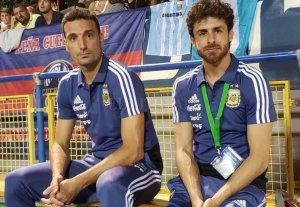 Scaloni y Aimar serán los técnicos de la Selección hasta diciembre