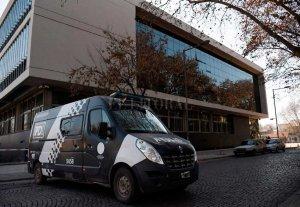 Balearon el Centro de Justicia Penal de Rosario