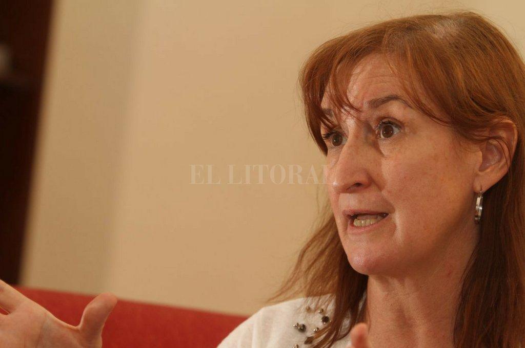La ministro de Salud de la provincia, Andrea Uboldi. <strong>Foto:</strong> Guillermo Di Salvatore