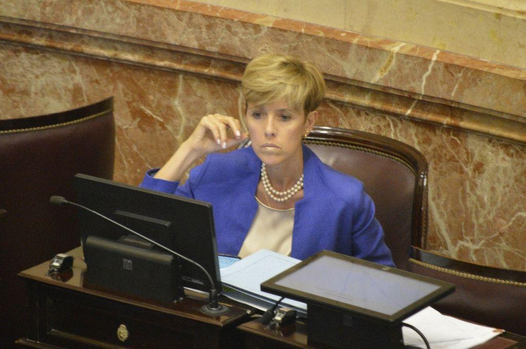 La senadora barilochense del bloque FpV- PJ, Silvina García Larraburu. <strong>Foto:</strong> Internet